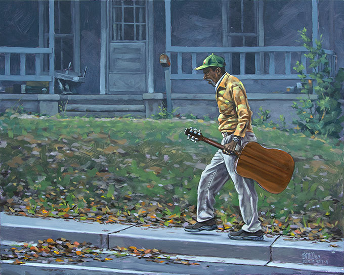 Autumn Music, 20 x 16 oil on panel