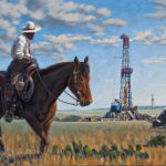 Open Range Giclee print on canvas